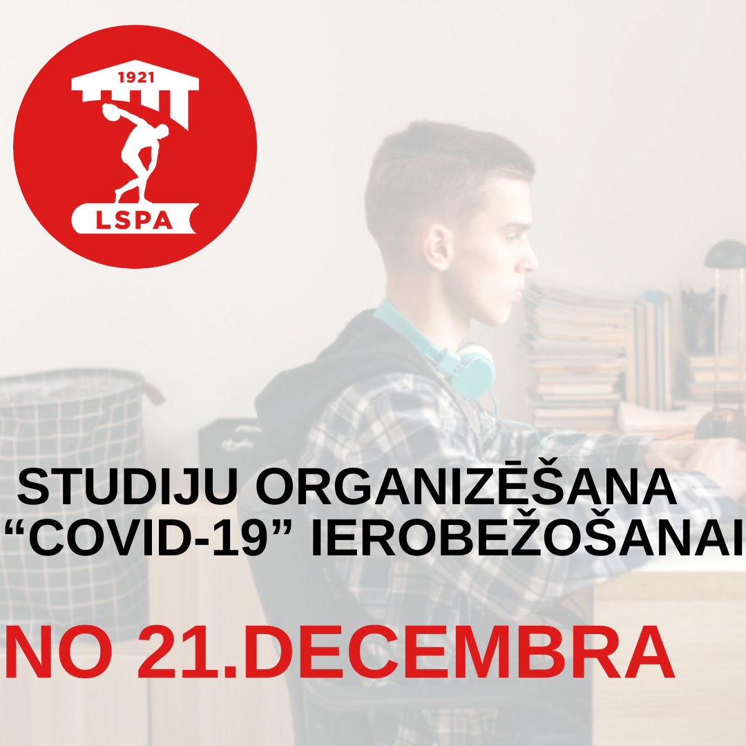 COVID ierobezosana no 21dec