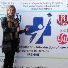 KIJEVĀ NOTIKUSI LSPA KOORDINĒTĀ FIZIOTERAPIJAS SKOLA UKRAINAS AUGSTSKOLĀM